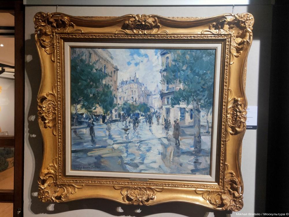 Константин Коровин - Парижское утро