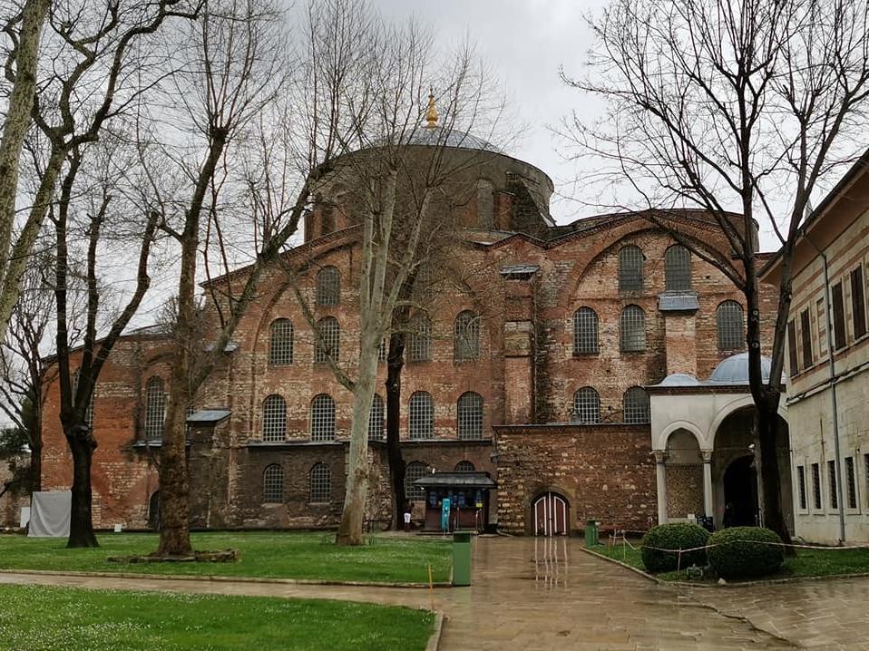 Церковь Святой Ирины. Стамбул