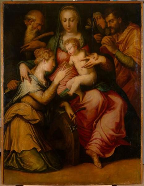 Обручение святой Екатерины