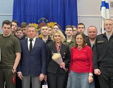 С кадетами после Премьеры